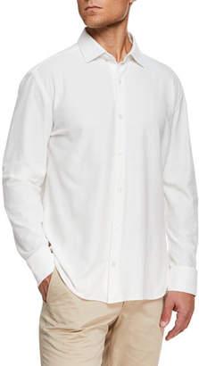 Ermenegildo Zegna Men's Knit Sport Shirt