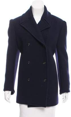 Celine Wool Double-Breasted Coat