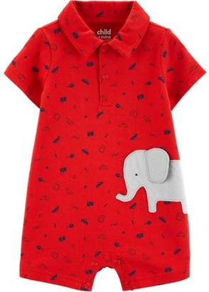 c37a302b9f Carter's Child of Mine by Short Sleeve One Piece Romper (Baby Boys)