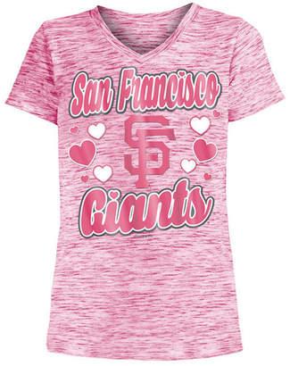 5th & Ocean San Francisco Giants Spacedye T-Shirt, Girls (4-16)