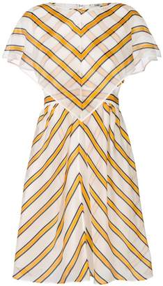 Fendi striped shift dress
