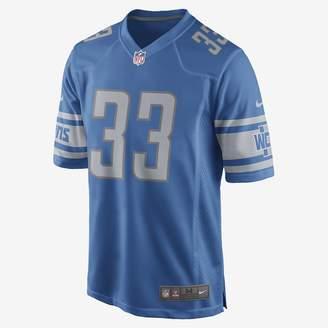 Nike Men's Game Football Jersey NFL Detroit Lions (Kerryon Johnson)
