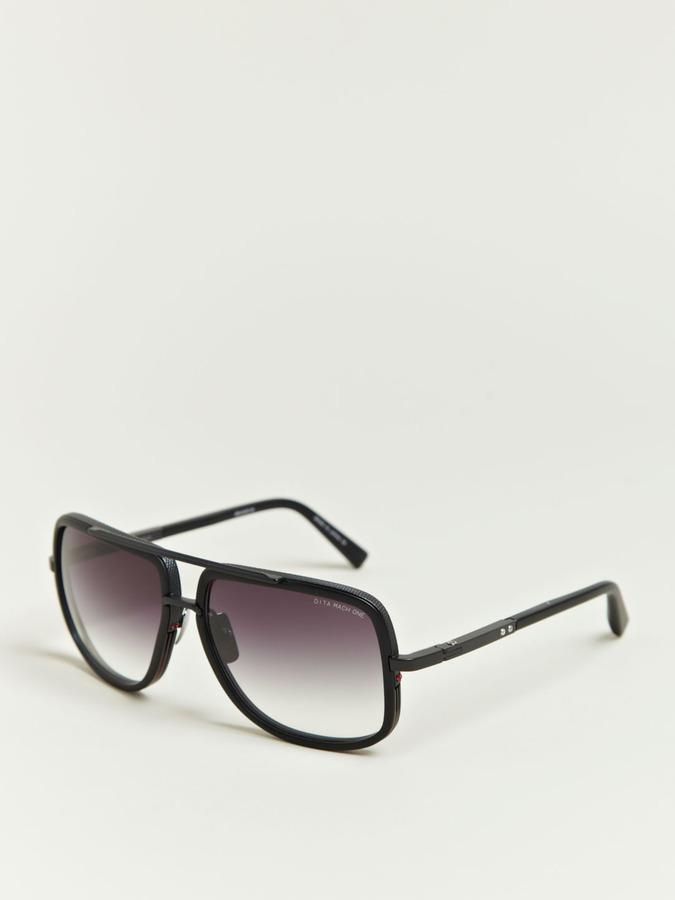 Men's Matte Black Mach One Sunglasses