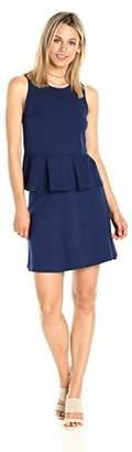 Paris Sunday Women's Sleeveless Ponte 2 Piece Skirt Set