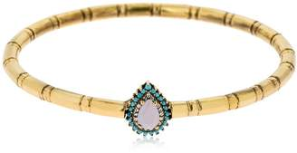 Iosselliani Rose Quartz Cuff Bracelet
