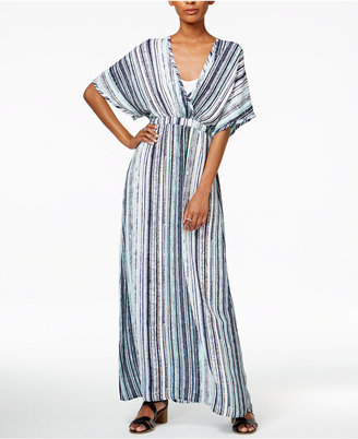 Bar Iii Striped Maxi Dress, Only at Macy's $89.50 thestylecure.com