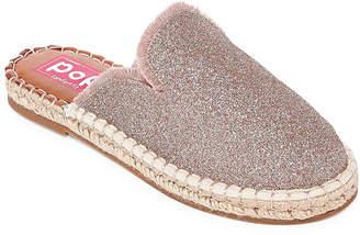 POP Womens Amber Mules Slip-on Round Toe