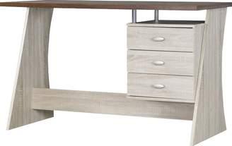 Baxton Studio Wholesale Interiors 3 Drawer Writing Desk
