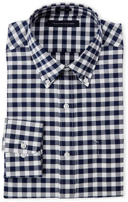 Tommy Hilfiger Navy Checked Regular Fit Shirt