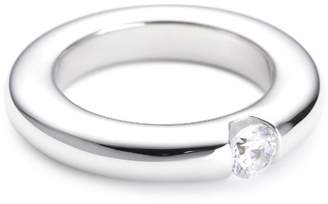 Esprit Elrg91431A170 Peribess Solitaire Silver Ring Size Q 1/2
