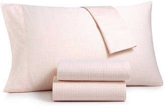 Charter Club Wovenblock Cotton 550 Thread Count Sheet Sets, Created for Macy's