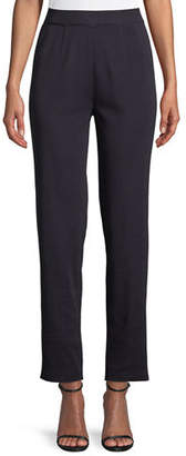 Misook Straight-Leg Knit Pull-On Pants, Plus Size