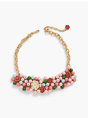 Talbots Desert Blooms Statement Necklace
