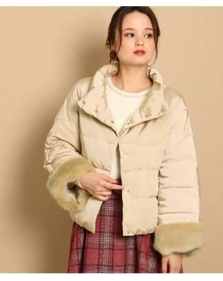 Couture Brooch (クチュール ブローチ) - クチュールブローチ [WEB限定サイズ(S・LL)あり]袖口ファーショートダウンコート