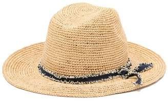 Tommy Bahama Crochet Raffia Safari Hat