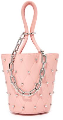 Alexander Wang Roxy Mini Bucket Bag $595 thestylecure.com