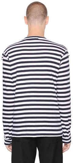 Striped Cotton Jersey T-Shirt 3
