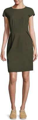 Lafayette 148 New York Women's Cap-Sleeve Sheath Dress