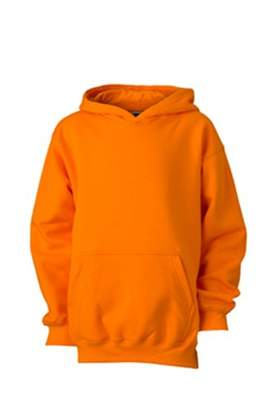 James & Nicholson Boy's Hooded Long Sleeve Sweatshirt