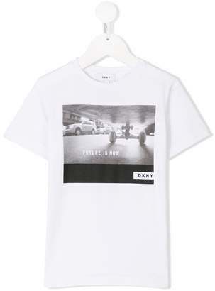 DKNY photographic-print T-shirt