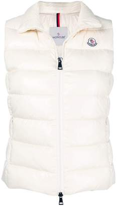 Moncler padded zipped vest