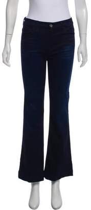 Jen7 Mid-Rise Wide Jeans