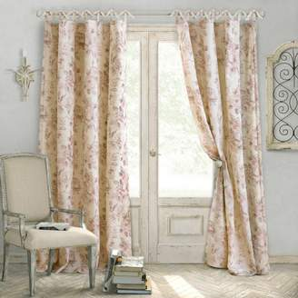 "Elrene Home Fashions Annalise Floral Curtain Panel, 52"" x 95"""