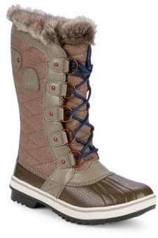 Sorel Tofino II Faux-fur Quilted Boots