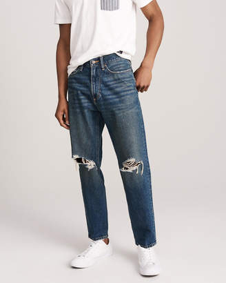 Abercrombie & Fitch High Waist Taper Jeans