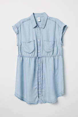 H&M MAMA Short-sleeved Shirt - Blue