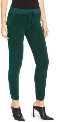 Pam & Gela Velvet Stripe Sweatpants