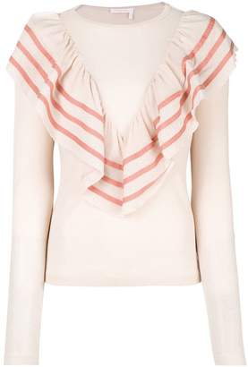See by Chloe Flouncy top