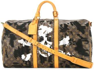 Jay Ahr skull and crossbone vintage Louis Vuitton Keepall