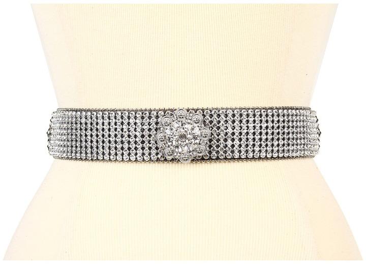 M&F Western - Crystal Concho Rhinestone Belt Women's Belts
