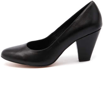 Django & Juliette Classic Black Shoes Womens Shoes Dress Heeled Shoes