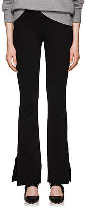 The Row Women's Alli Bonded Jersey Pants - Black