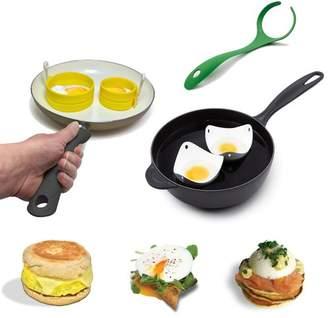 Fusion Brands Fusionbrands 4 Piece Egg Poacher Set