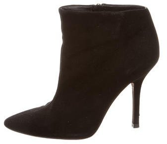 Vera Wang Suede Ankle Boots