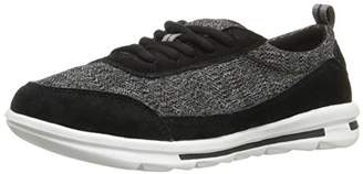 Rockport Women's Rock On Air Lace-up Black Suede Wash (C)