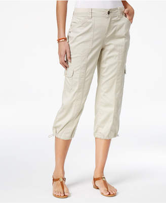 Style & Co Cargo Capri Pants, Created for Macy's $21.98 thestylecure.com
