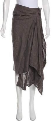 Markus Lupfer Linen Midi Skirt
