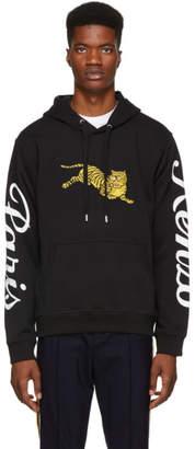 Kenzo Black Jumping Tiger Hoodie