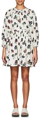 Ulla Johnson Women's Joelle Floral Cotton Poplin Short Dress