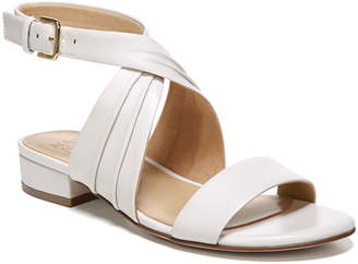 9bbc5d9796b4 Naturalizer White Strap Sandals For Women - ShopStyle Canada