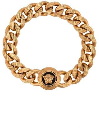gold Medusa chain bracelet
