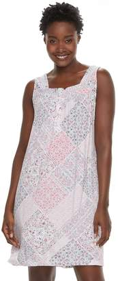 Croft & Barrow Women's Printed Nightgown
