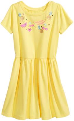 Epic Threads Little Girls Graphic-Print Drop-Waist Dress, Created for Macy's