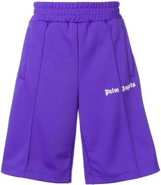 Palm Angels oversized track shorts