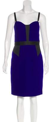 Milly Wool Strap Dress
