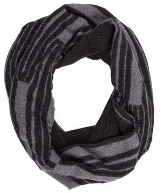 Eileen Fisher Wool-Blend Knit Scarf